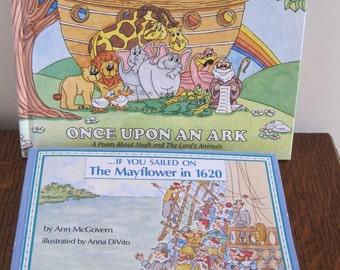 Books, Children's Books, Educational Books, Pilgrim Book, Noah's Ark Book