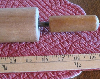 Wooden Rolling Pin, Large Rolling Pin, Vintage Rolling pin