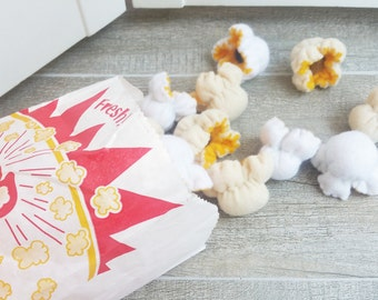 3 PCS BUTTER POPCORN - Cat Toy - Catnip Toy - Catnip