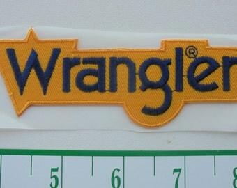 Cool WRANGLER hat sticker new