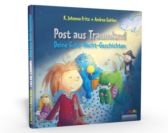 Your good night stories - post from dreamland - personalized children's book