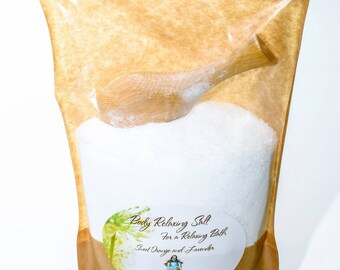 Organic Body Relaxing Salt - 200g