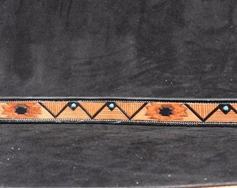 Southwest Belt with decorative turqouise conchos