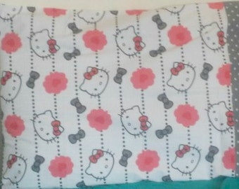 Adorable Hello Kitty Polka Dot Pillowcase