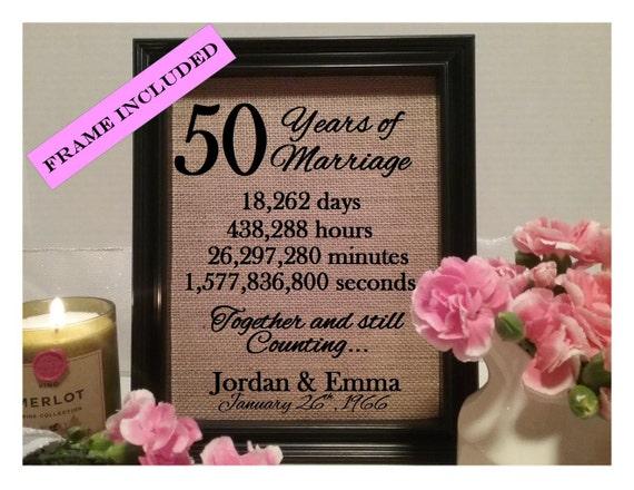 Wedding Gifts 50 Years : 50 Years of marriage 50th wedding anniversary 50 years of