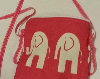 Child's Elephant Crossover Bag