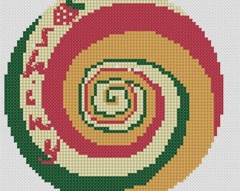 Firefly Kaylee Umbrella Cross Stitch Pattern Only, Firefly/Serenity Modern Counted Easy Cross Stitch Chart, PDF Format, Instant Download