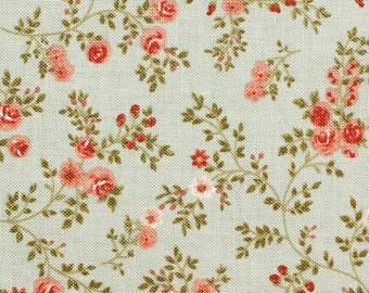 Millefleur - cotton fabric with floral print - 0, 5m