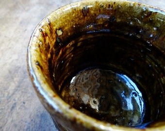 YUNOMI, Japanese Style Tea Cup, Handmade Tea Cup, Ceramic Tea Cup, Pottery Cup, Small Tea Cup, wheel thrown