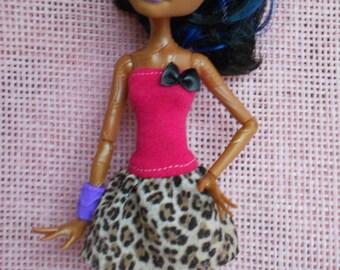 Handmade dress  for Monster High dolls