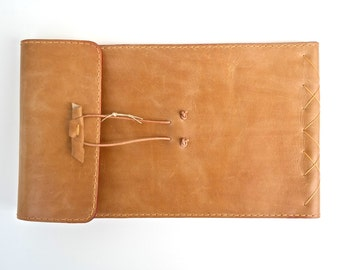 Leather Sketchbook or Journal