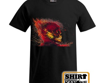 Flash Skull T-Shirt