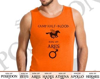 Camp Half Blood t shirt Percy Jackson and the Olympians Demigod men unisex girl tank top