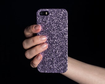 Glitter iPhone Case for iPhone 4/4S, 5/5S, SE, 6/6S & 6/6S Plus - Lavender