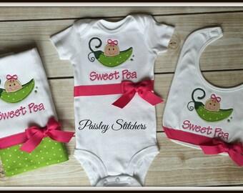 Sweet Pea Baby Set
