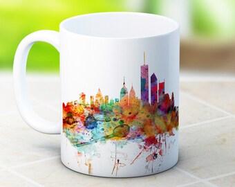 New York Skyline NY USA Cityscape - High Quality Coffee Tea Mug