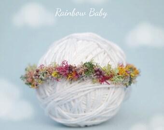 rainbow baby halo