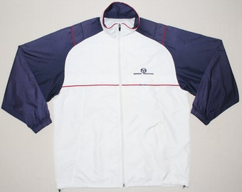 Sergio Tacchini Windbreaker Sergio Tacchini Jacket Sergio Tacchini Track And Court Lab Tennis Jacket