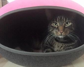 Cat nest laminated cat igloo cosy cave cat cave with felt