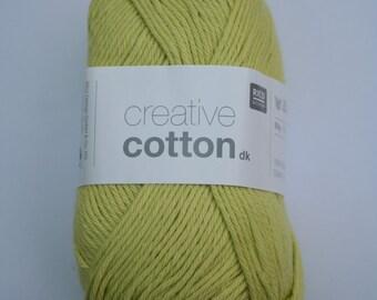 Rico Creative Cotton DK Pistachio 016