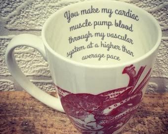 Cardiac Muscle Bone China Mug