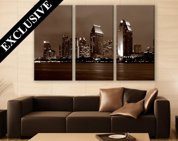 home decor san diego ca san diego wall city canvas print 3 panels print by 12389