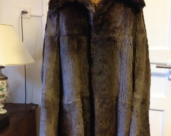 Beautiful Beaver fur jacket