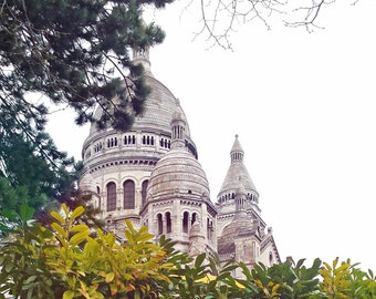 Montmartre/Paris/Buildings/Colors/Deco/Room/France/Travel/White/Spring/Trip/Europe/Sacre Coeur