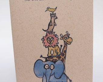 Greeting Card- Stacks up