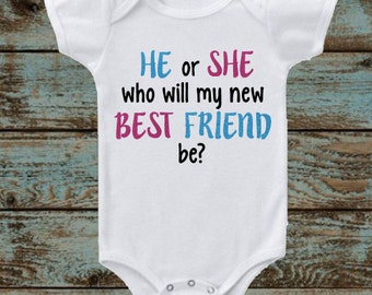 Gender Reveal: He or She Who Will My New Best Friend Be?