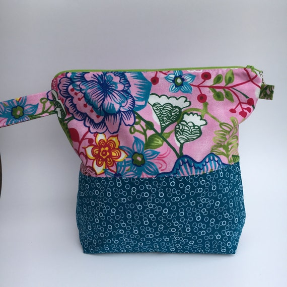 Zippered Knitting Bag : Zippered knitting project bag