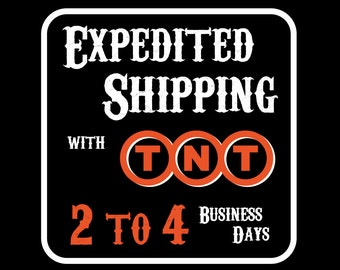 Expedited Shipping with TNT - 2 to 4 Business Days