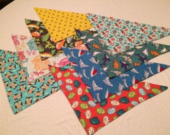 Fursuit bandanas - Aquatic and flying animals