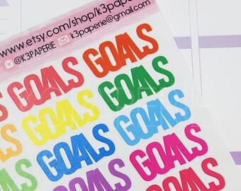 M008 // Goals Planner Stickers