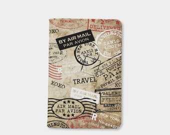 Women's Day Stamp passport holder, leather passport cover,personalized passport cover,gifts for her,gifts for him,cute passport cover