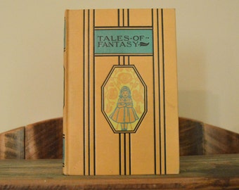 Tales of Fantasy; Young Folks Library; 1940s; Children's Stories; Vintage Book; Young Adult; Classic Literature