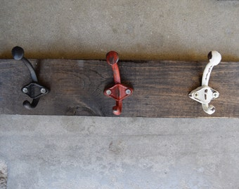 Multi Color Wood Hooks