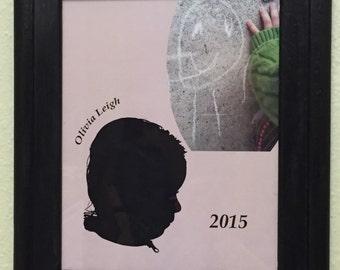 Custom Child Silhouette Collage