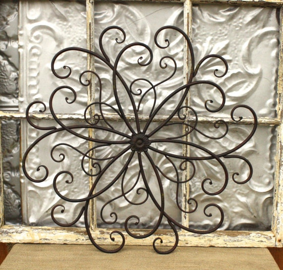 Metal Wall Art Medallion 20 Inch Metal Wall By