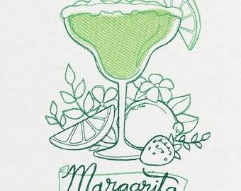 Tea Towel - Margarita