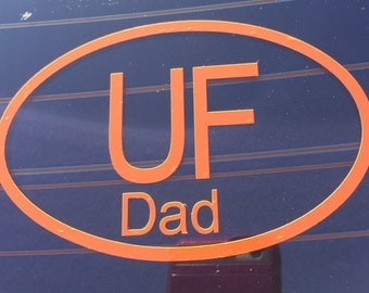 University of Florida DAD Auto Car Decal FREE SHIPPING