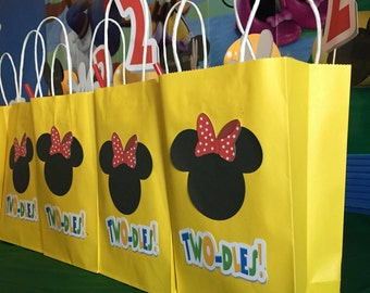 Minnie Mouse Gift Bags Two-dles Clubhouse