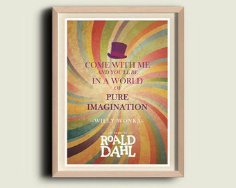 100 Years of Roald Dahl | Willy Wonka | World of Pure Imagination