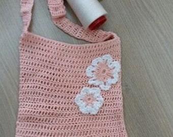 Shoulder bag crochet