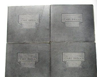Memorial Edition Clare Briggs Seven Volume Set