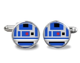 Star War Cufflinks R2D2 Cufflinks PM-202