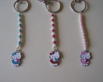 Hello Kitty key rings