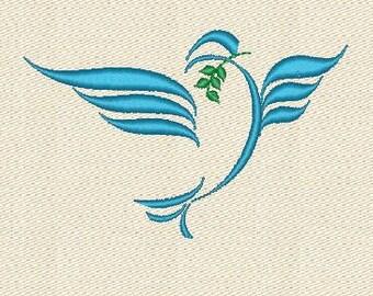 dove machine embroidery designs