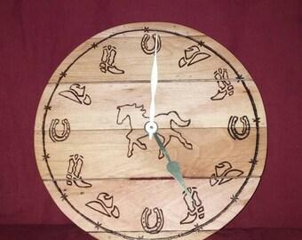 Western Style Clock