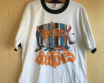 1994 Mighty Mighty Bosstones Ringer T-Shirt XL 50/50